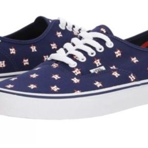 f89c094b65f Vans Shoes - Vans Authentic MLB Houston Astros Canvas Navy🌹